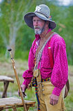 Fort Bridger Rendezvous 2014 Arkivfoto