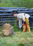 Fort Bridger Rendezvous 2014 Arkivbild