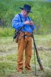 Fort Bridger Rendezvous 2014 Lizenzfreie Stockfotos