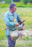 Fort Bridger Rendezvous 2014 Lizenzfreies Stockfoto