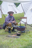 Fort Bridger Rendezvous 2014 Stockbild