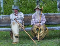 Fort Bridger Rendezvous 2014 Lizenzfreies Stockbild