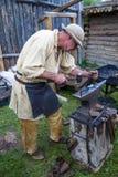 Fort Bridger Rendezvous 2014 Stock Photography