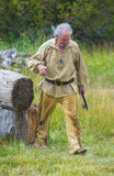 Fort Bridger Rendezvous 2014 Stock Images