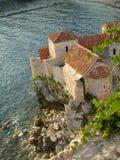 Fort in Budva Royalty-vrije Stock Afbeeldingen