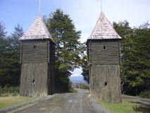 Fort Bulnes Chili Royalty-vrije Stock Afbeeldingen