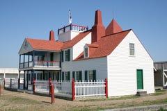 fort burżuazyjnej europejska handlowy domu pocztę Zdjęcia Stock