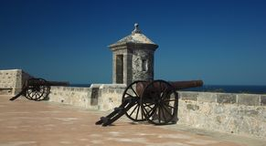 Fort in Campeche Stockfoto