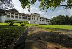 Fort Canning Art Centre, Fort Canning, Singapore. Fort Canning is a small hill in the southeast portion of Singapore, within the Central Area that forms Royalty Free Stock Images