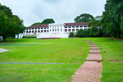 Fort Canning Centre. View of famous Fort Canning Centre in Singapore Stock Photos