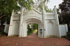 Fort Canning Gate Stock Images
