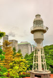 Fort Canning Lighthouse in Singapore. Fort Canning Lighthouse on Fort Canning Hill in Singapore Royalty Free Stock Photography
