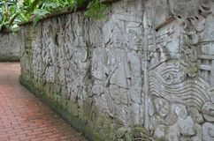 Fort Canning, Singapore royalty free stock photography