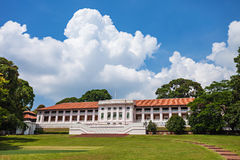Fort Canning. Is a small hill slightly more than 60 metres high in the southeast portion of Singapore Stock Photo