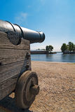 Fort cannon Stock Images