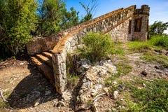 Fort Capron dans l'attraction scénique de Guanica Puerto Rico photographie stock libre de droits