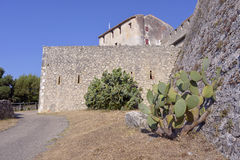 The Fort Carré from Antibes in France Royalty Free Stock Image