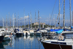 Fort Carre in Antibes royalty free stock images
