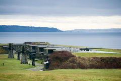 Fort Casey State Park. Royalty Free Stock Photos