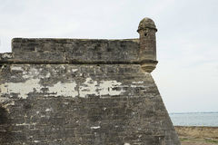 Fort Castillo de San Marcos Royalty Free Stock Photo