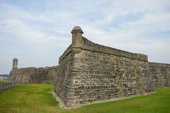 Fort Castillo de San Marcos Stock Photo