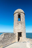 Fort Castillo de San Marcos , St. Augustine, Florida, US.  Stock Photo