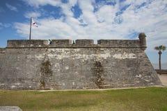 Fort Castillo, St Augustine, Florida Royaltyfri Bild