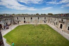 Fort Castillo, St Augustine, Florida Royalty-vrije Stock Afbeelding