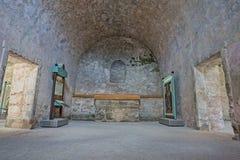 Fort Castillo, St Augustine, Florida stockfotos