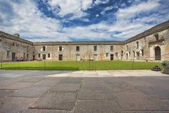 Fort Castillo, St. Augustine, Florida. Inside Grounds Of Fort Castillo in St. Augustine, Florida Stock Images