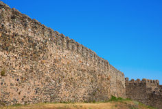 Fort Castillo walls Royalty Free Stock Photo
