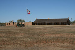 Fort Chadbourne Royalty Free Stock Image