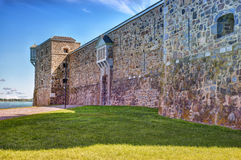 Fort Chambly. Is designated as a National Historic Site of Canada Royalty Free Stock Photos