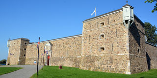 Fort Chambly Royalty Free Stock Photography