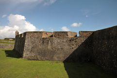 Fort Charles outside walls Royalty Free Stock Images