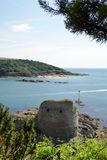 Fort Charles, Salcombe, Devon, Lizenzfreie Stockfotos