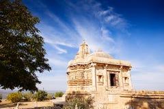 Fort Chittorgarh w India Rajasthan Kirti Stambha obrazy stock