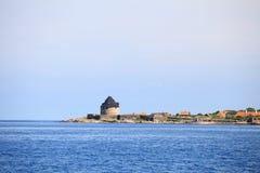 Fort Christiansoe island Bornholm Denmark Stock Image