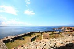 Fort Christiansoe island Bornholm Denmark Stock Photos