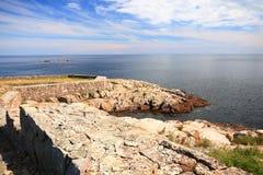 Fort Christiansoe island Bornholm Denmark Stock Photo