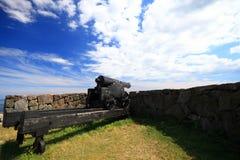 Fort Christiansoe island Bornholm Denmark Royalty Free Stock Image
