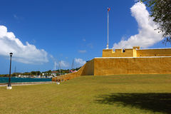 Fort Christiansted Stock Afbeelding