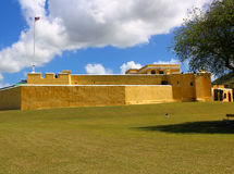 Fort Christiansted Stock Afbeeldingen