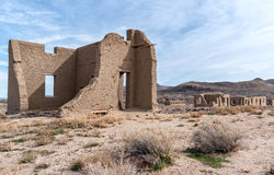 Fort Churchill State Park in Nevada Royalty Free Stock Photos