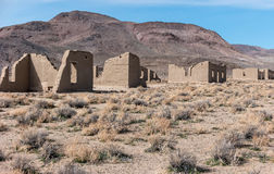 Fort Churchill State Park in Nevada Stock Photos