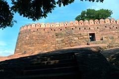 Fort ściana i skała krajobraz Zdjęcie Stock