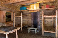 Fort Clatsop Living Quarters Stock Image