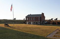 Fort Clinch stock photo