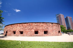 Fort Clinton Stockfotos