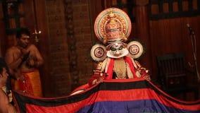 FORT COCHIN, India -  January 10, 2015: Kathakali stock video